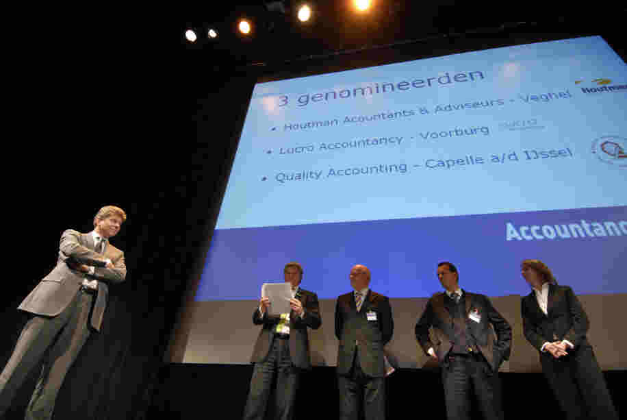 Uitreiking AccountancyNieuws Award